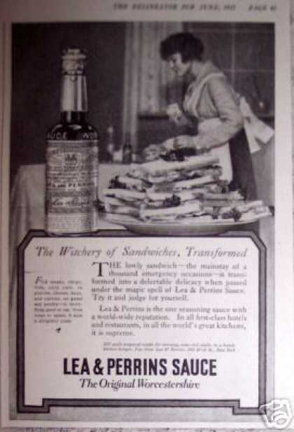 Lea & Perrins Wichery of Sandwiches (1917)