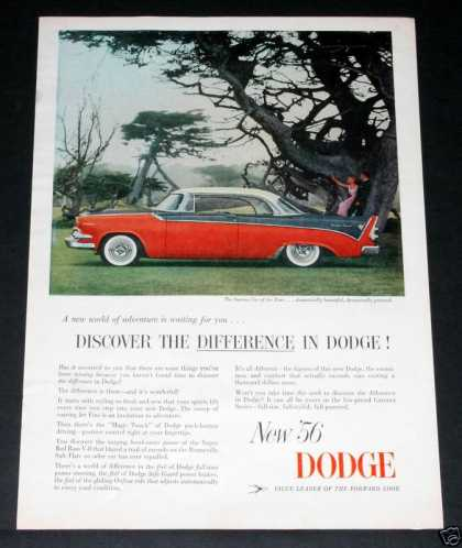 Dodge Coronet, Red Ram V-8 (1956)