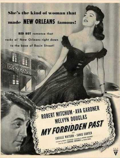 """My Forbidden Past"" Movie (1951)"