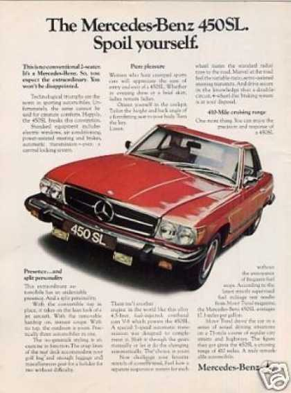 Mercedes-benz 450sl Car (1974)