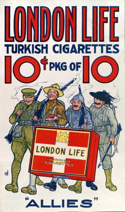 London Life – - 1918 (1ª GM, WWI) (1914)