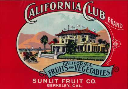 California Club Can Label – Berkley, CA