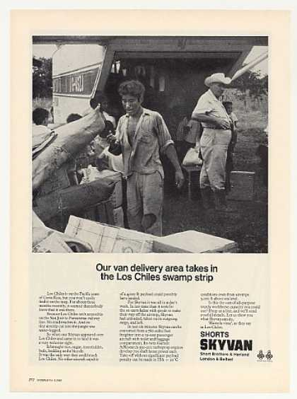 Shorts Skyvan Los Chiles Costa Rica Delivery (1969)