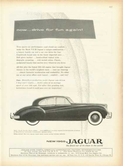 Jaguar Mark Vii-m Family Sports Sedan (1955)