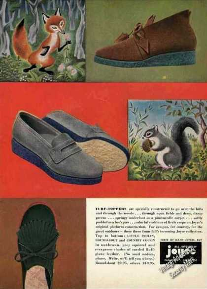 Joyce Turf-toppers Shoes (1948)