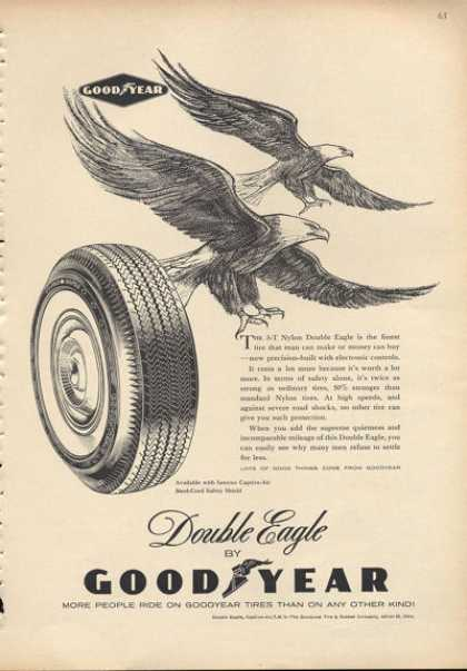Goodyear Double Eagle Tire (1960)