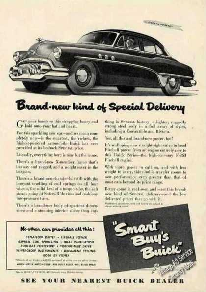 "Buick ""Brand-new Kind of Special Delivery"" Car (1951)"