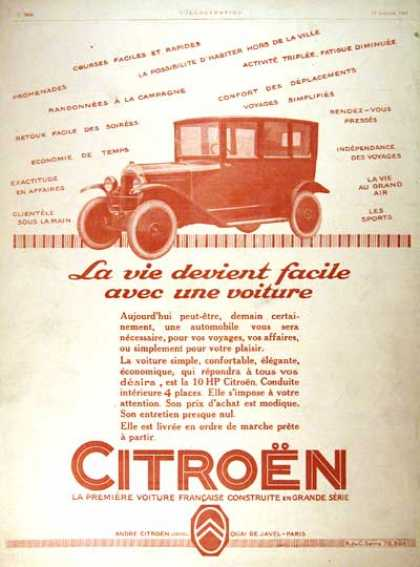 Citroën 10 h.p. Sedan (1924)