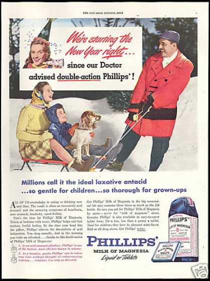 Phillips Milk of Magnesia Doctor Advised (1946)