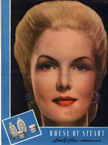 House of Stuart's Various – House of Stuart Beauty Clinic Cosmetics (1945)