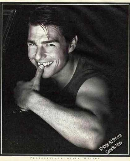 Tom Cruise Magazine Print Photo (1992)