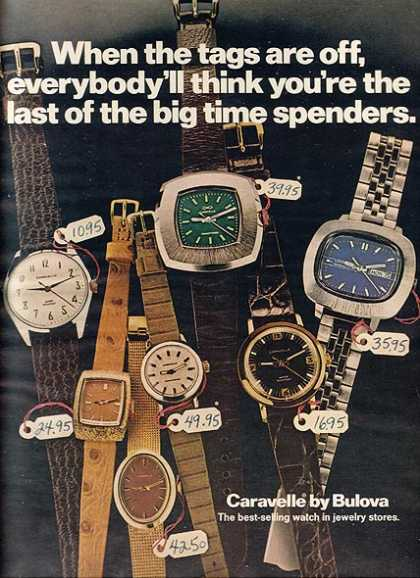 Caravelle's Men's watches (1968)