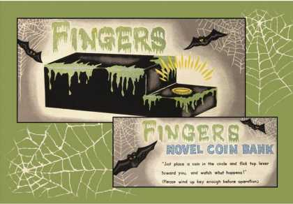 Fingers Novel Coin Bank
