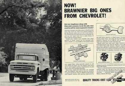 Chevrolet Trucks Brawnier Big Ones (1964)