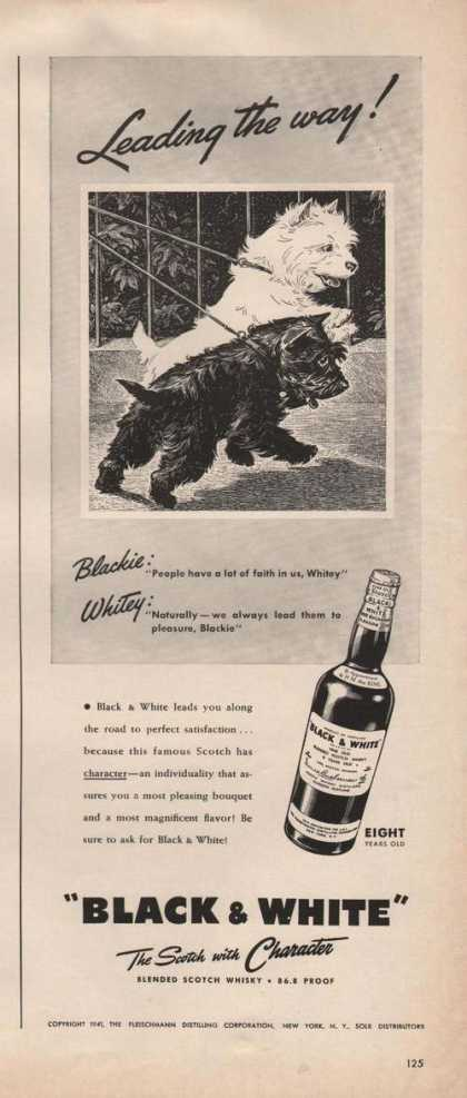 Leading the Way Black & White Scotch (1941)