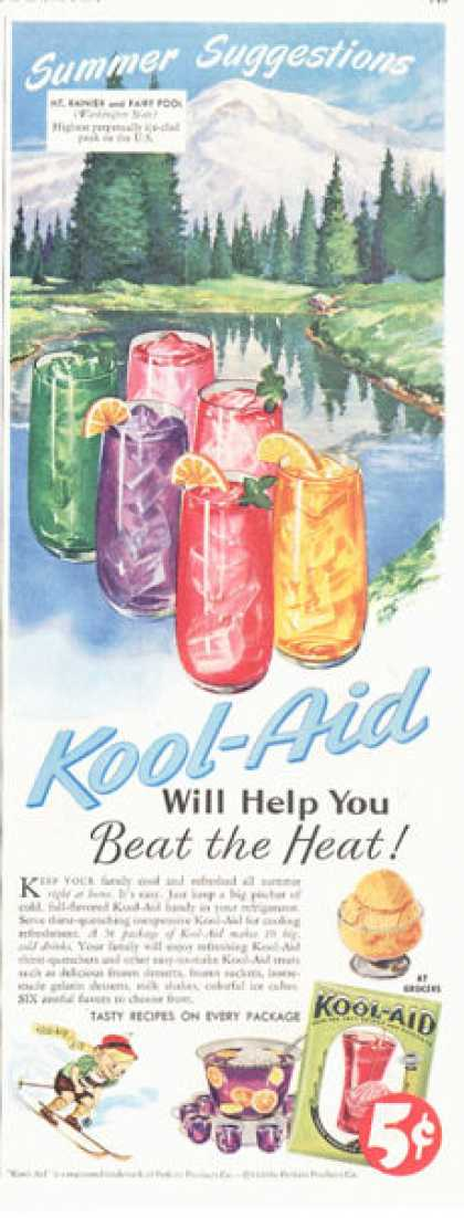 Kool-aid Kid Snow Ski (1949)