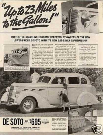 Desoto Custom Airstream Touring Sedan (1936)