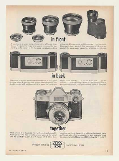 Zeiss Ikon Contaflex Super 35 Tessar Camera (1962)