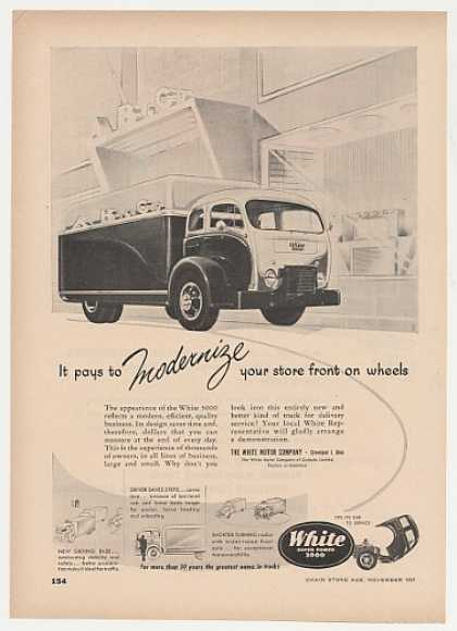 White 3000 Delivery Truck (1951)