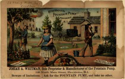 Josiah A Whitman's Whitman's Fountain Pump – Whitman's Fountain Pump