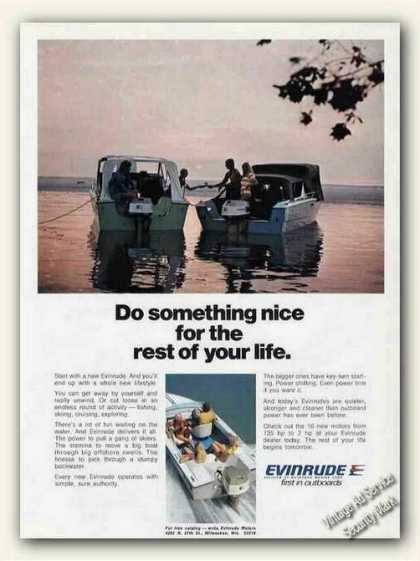 """Something Nice for Rest of Your Life"" Evinrude (1973)"