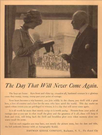 Kodak – The Day That Will Never Come Again (1919)