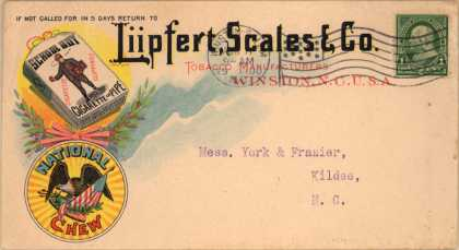 Liipfert, Scales & Co.'s School Boy Tobacco and National Chew – Liipfert, Scales & Co. (1900)