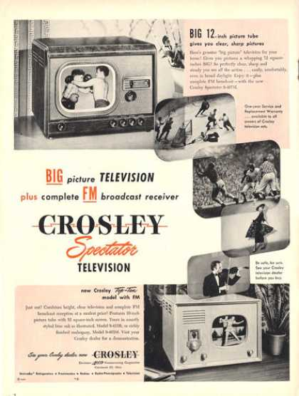 Crosley Television Tv (1948)