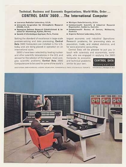 Control Data 3600 International Computer System (1963)