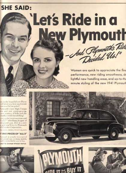 Chrysler's Plymouth (1941)