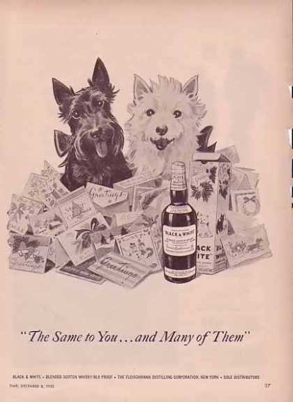 Black &amp; White Whiskey Holiday (1952)