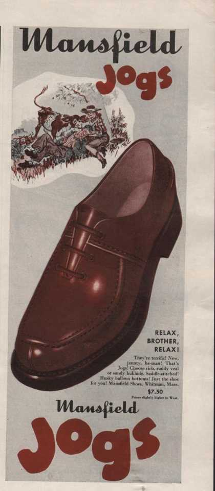 Mansfield Mens Jogs Dress Shoes (1942)