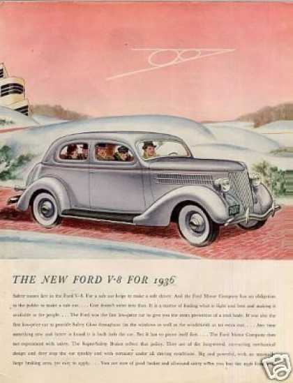 Ford Car Color (1936)