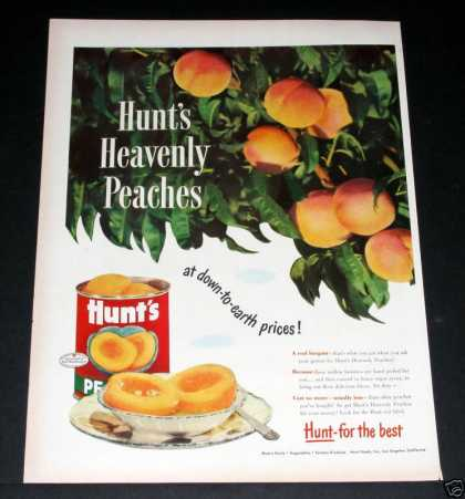 Hunts Heavenly Peaches, the Best (1949)