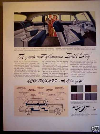 """New"" Packard for the Class of '41 Classic Car (1940)"