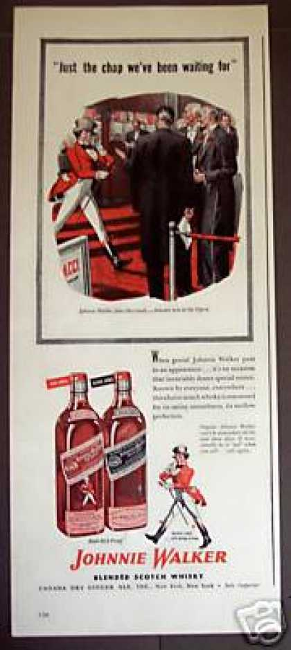 Johnnie Walker at the Opera Scotch Whisky (1946)