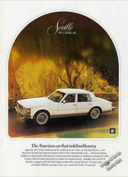 "Seville By Cadillac ""Redefined Luxury"" (1979)"