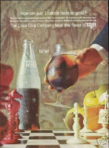 Tab by Coke Coca Cola Chess Game Pieces (1964)