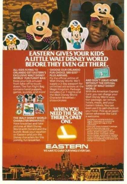 Eastern Airlines Walt Disney World Fun Flight (1981)
