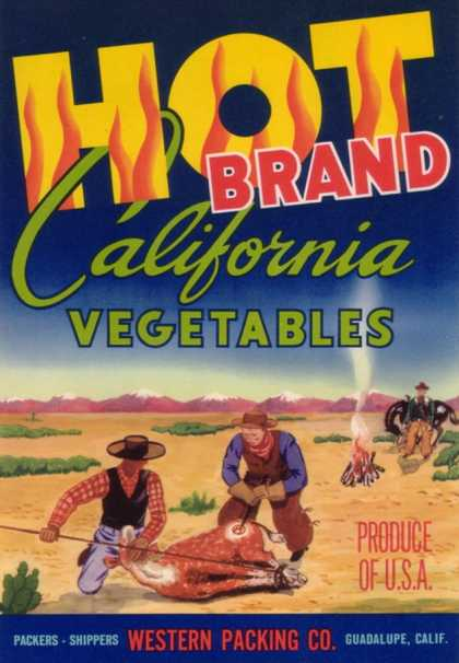 Hot Vegetable Label – Guadalupe, CA