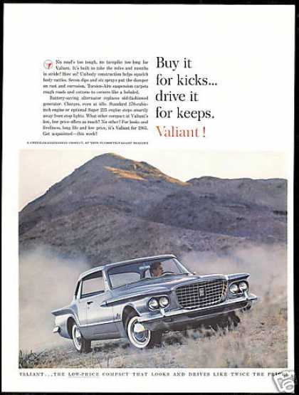 Plymouth Valiant 2 dr Vintage Photo (1961)