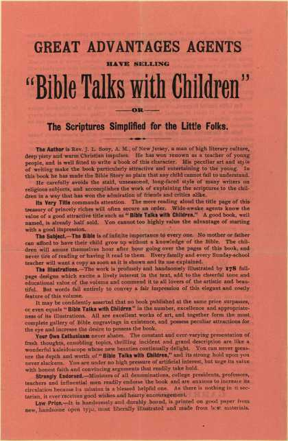 Garretson & Co.'s Bible Talks with Children – Bible Talks with Children