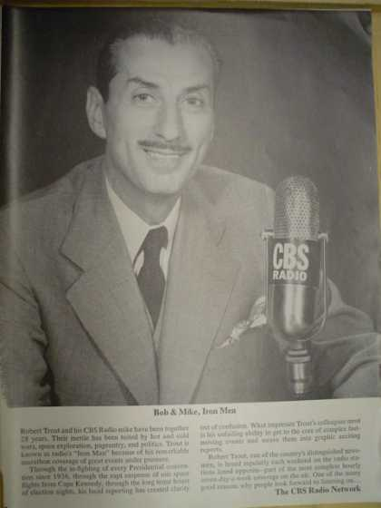 CBS Radio network Bob & Mike Iron Men (1964)