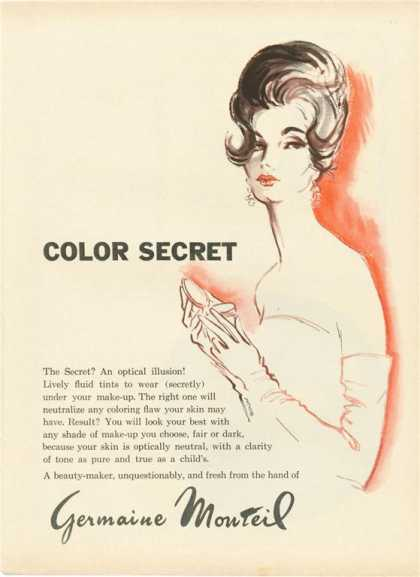 Germaine Monteil Color Secret Artwork (1962)