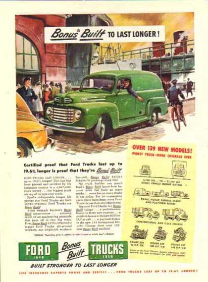 Ford Trucks – Panel Truck Bonus Built (1948)