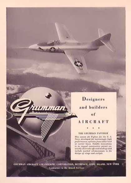Grumman Aircraft – Panther over the Falls (1948)