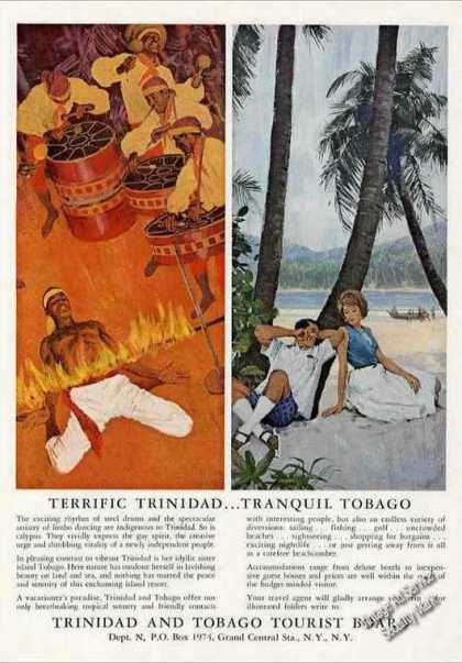Terrific Trinidad Tranquil Tobago Travel (1963)