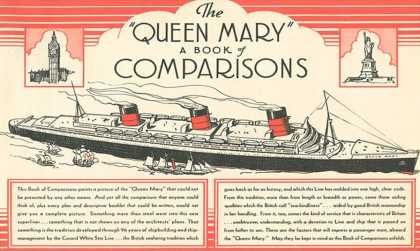 Queen Mary Book of Comparisons