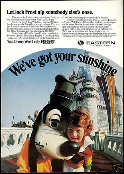 Eastern Airlines Walt Disney World (1977)