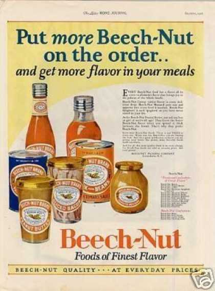 Beech-nut Foods (1926)